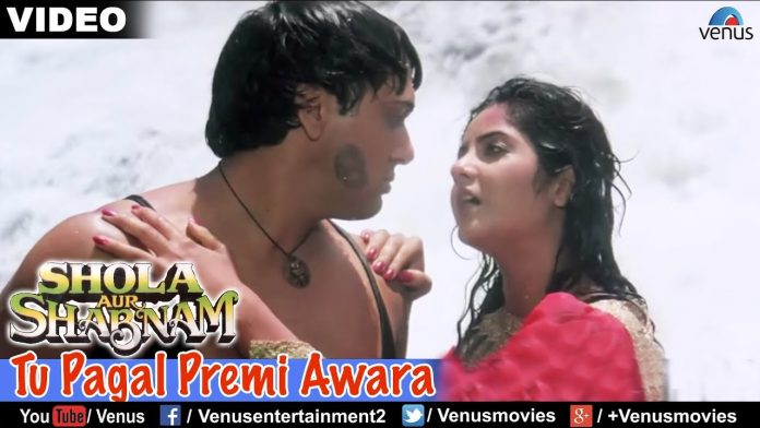 Tu Pagal Premi Awara Hindi Lyrics