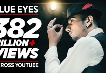 Blue Eyes Lyrics In Hindi