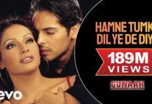 Humne Tumko Dil Ye De Diya Lyrics